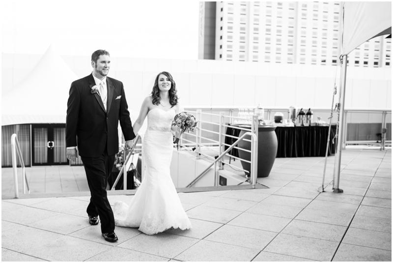 Downtown spokane wedding